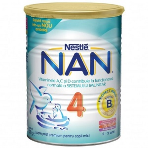 Lapte praf Premium Nestle Nan 4 Protect Build
