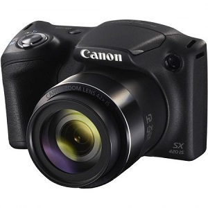 Aparat foto digital Canon PowerShot SX420 IS 20MP Black