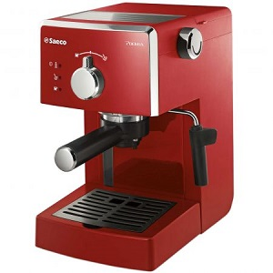 Espressor manual Saeco Poemia HD8423 29 1.25 l Rosu
